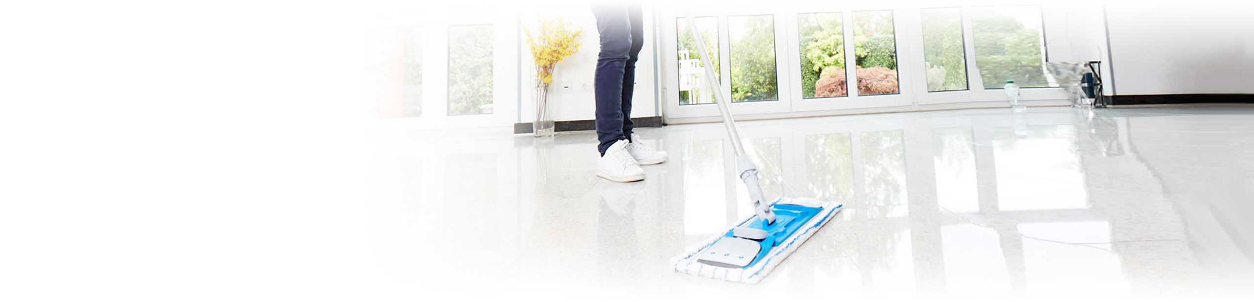 Daily floor cleaning